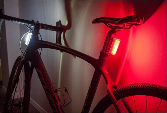 LUZES DE BICICLETA - ORFOS FLARE BIKE LIGHTS - Imagem - 3