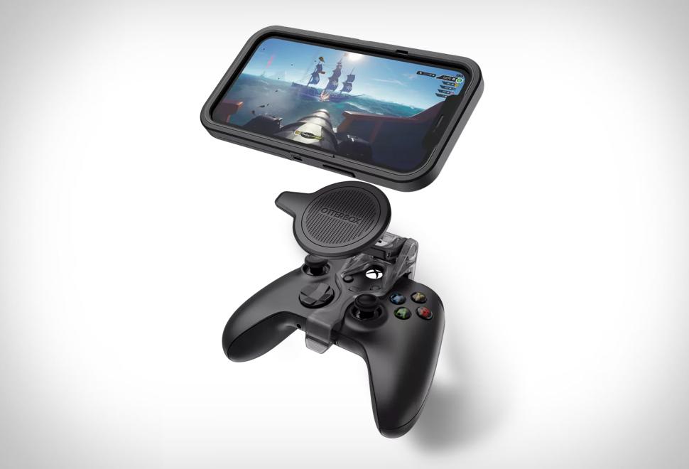 Acessório para ligar o iPhone 12 a um controle Xbox - OTTERBOX MOBILE GAMING CLIP
