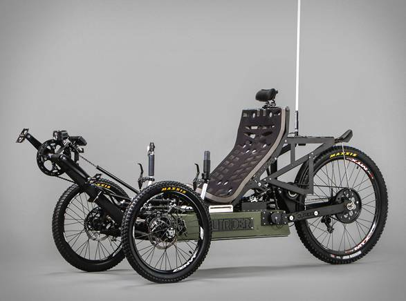 Triciclo Elétrico Aventura | Outrider - Imagem - 2
