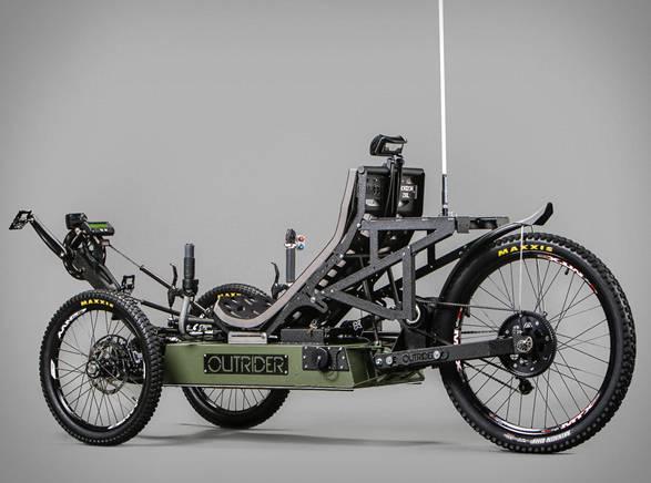 Triciclo Elétrico Aventura | Outrider - Imagem - 4