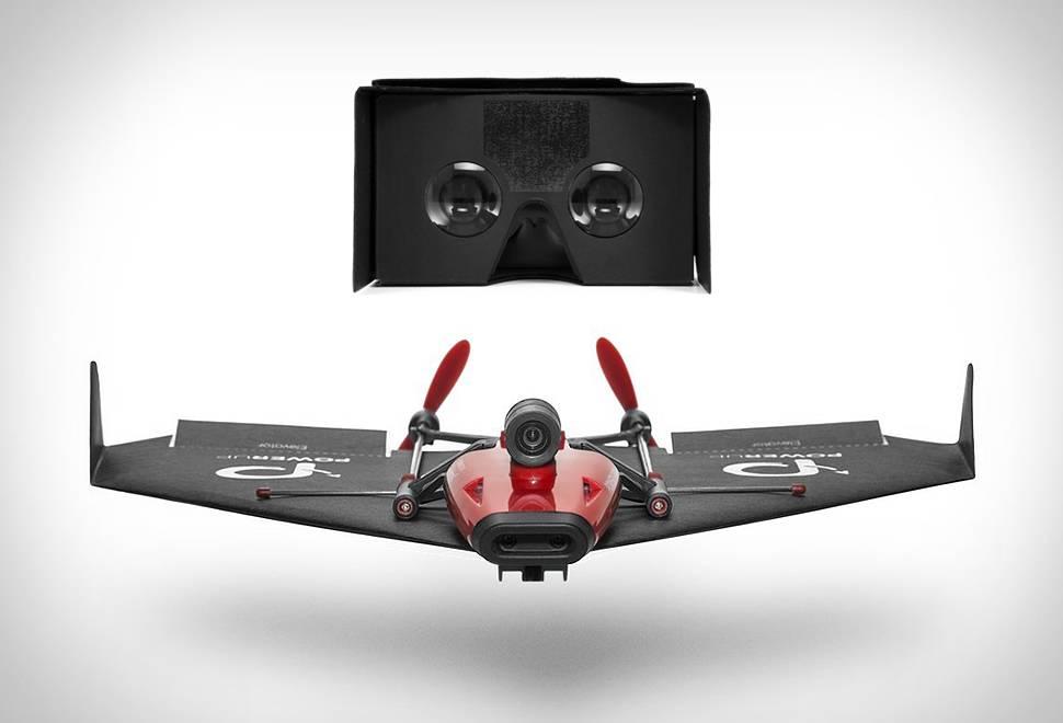 Drone VR Avião de Papel