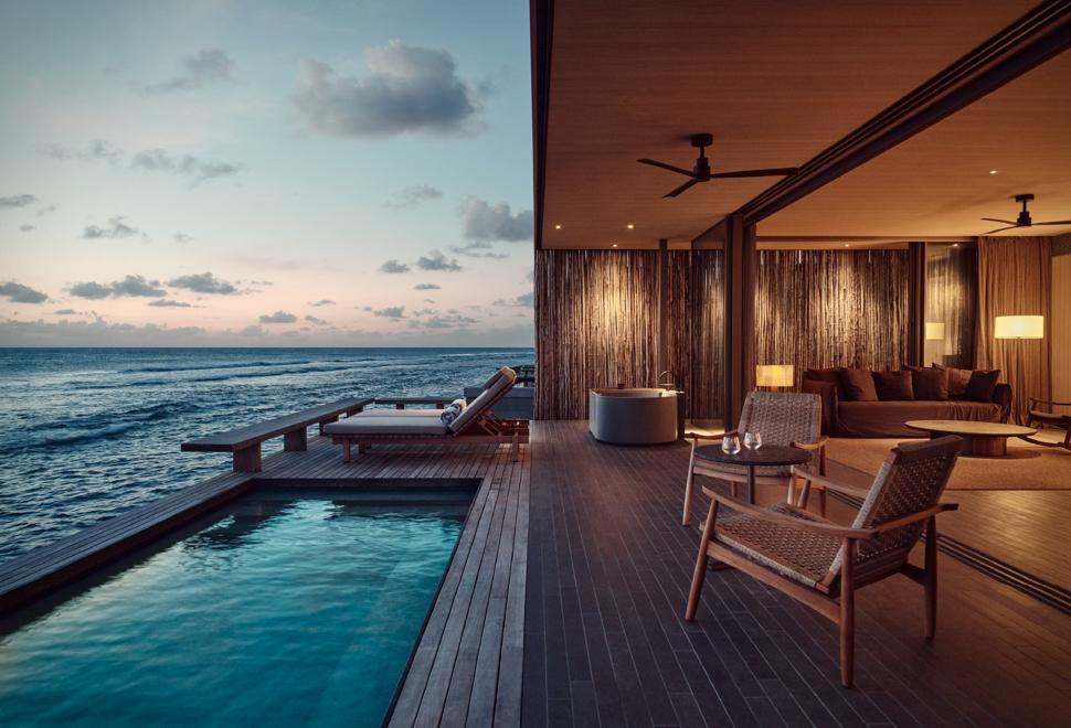 Um dos Resorts Mais Ecológicos do Mundo - HOTEL PATINA MALDIVES