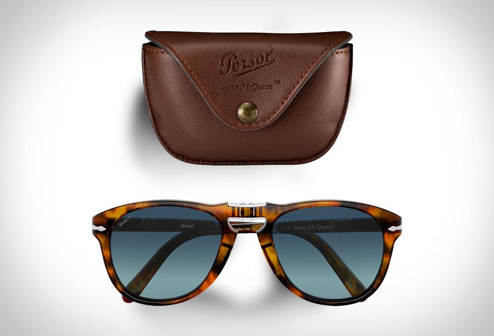 Lendários óculos de sol dobráveis de Steve McQueen - Imagem - 1
