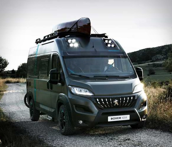 VAN Peugeot - Boxer 4x4 Camper Van - Imagem - 4