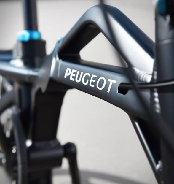 Bicicleta Elétrica Dobrável Peugeot ef01 - Imagem - 3