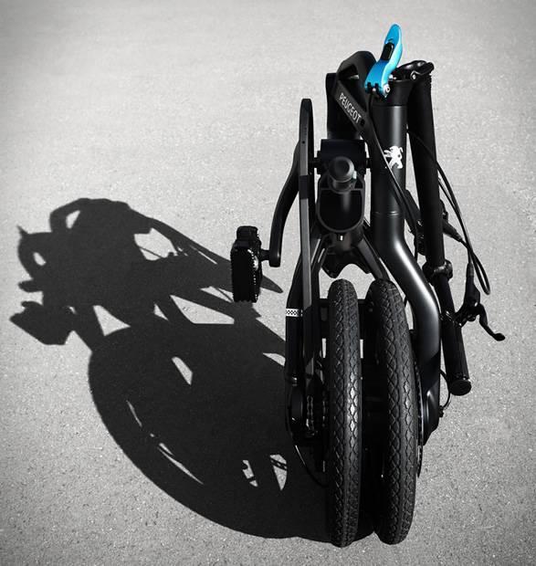 Bicicleta Elétrica Dobrável Peugeot ef01 - Imagem - 4