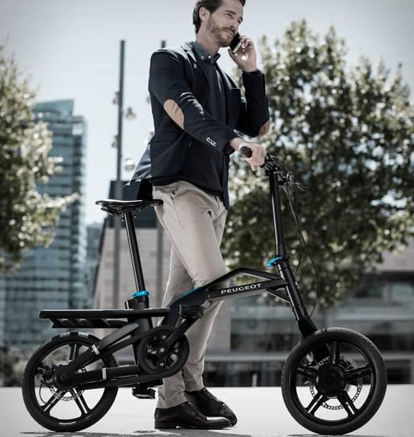 Bicicleta Elétrica Dobrável Peugeot ef01 - Imagem - 5
