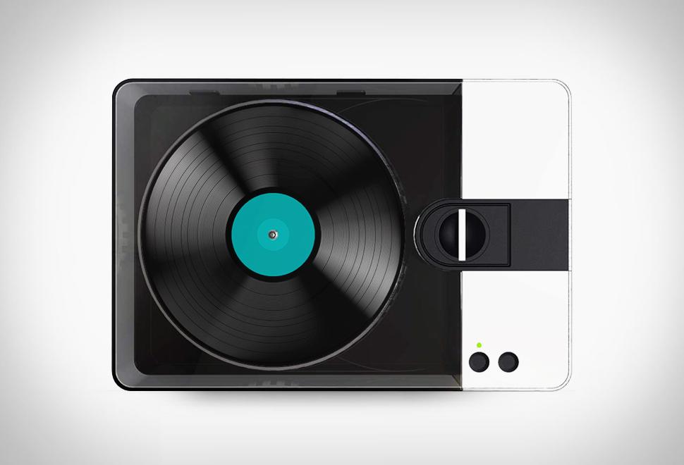Fábrica de Vinil Portátil - PHONOCUT HOME VINYL RECORDER - Imagem - 1