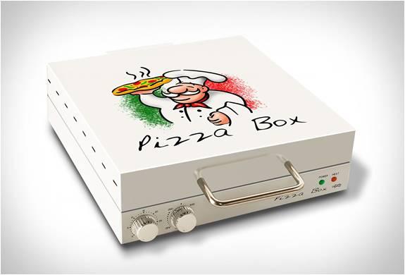 FORNO DE PIZZA - CAIXA DE PIZZA- PIZZA BOX OVEN - Imagem - 2