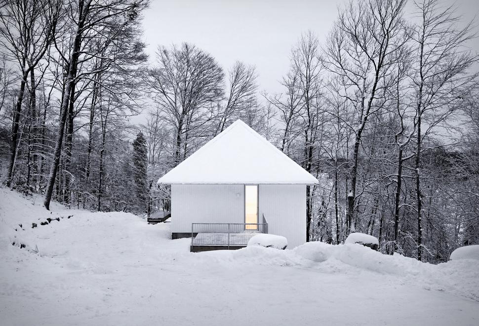 Cabana Branca Aconchegante - POISSON BLANC CABIN - Imagem - 1