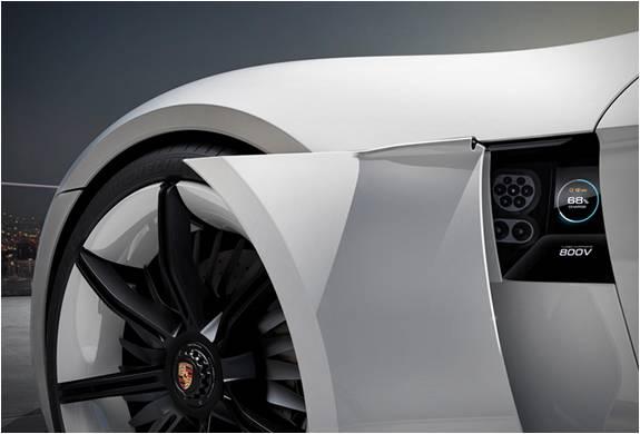 Porsche Mission E Concept - Carro Elétrico que Arrasou no Motor Show de Frankfurt - Imagem - 3