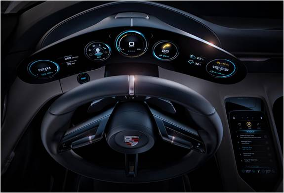 Porsche Mission E Concept - Carro Elétrico que Arrasou no Motor Show de Frankfurt - Imagem - 4