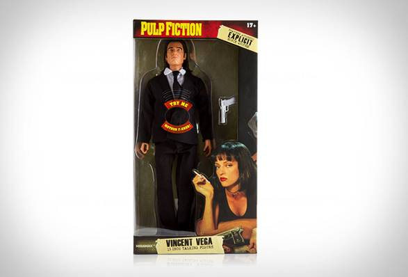 Bonecos Falantes de Pulp Fiction - Imagem - 2