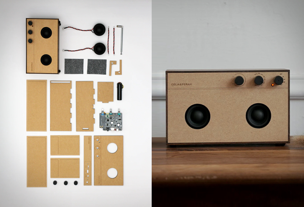Rádio Bluetooth de Alta Qualidade - R3 DIY Bluetooth Speaker - Imagem - 1