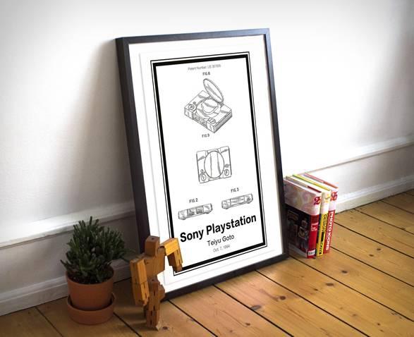 Ilustrações Patentes Retro - Imagem - 2