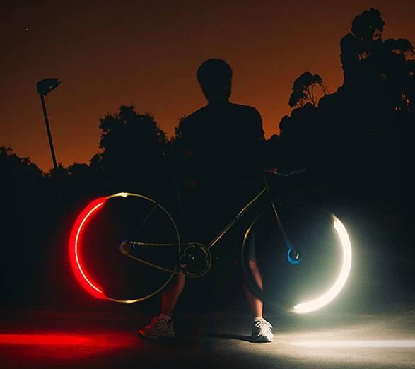 Sistema de Iluminação para Bicicletas Revolights Eclipse - Imagem - 5