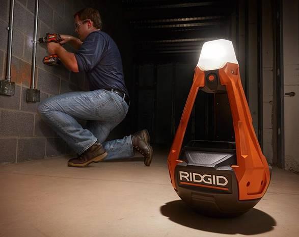 Luminária de Trabalho Ridgid Wobbly - Imagem - 3