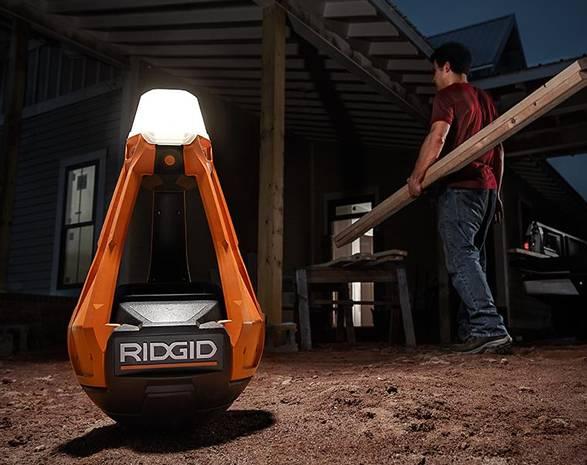 Luminária de Trabalho Ridgid Wobbly - Imagem - 4