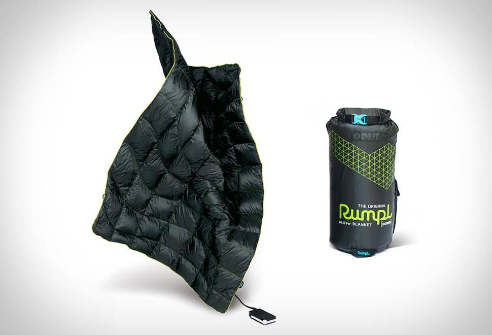Cobertor Aquecido Rumpl Puffe - Imagem - 1