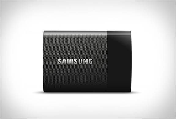 DISCO PORTÁTIL SAMSUNG SSD T1 - Imagem - 2