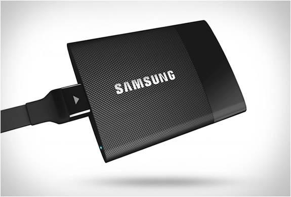 DISCO PORTÁTIL SAMSUNG SSD T1 - Imagem - 4