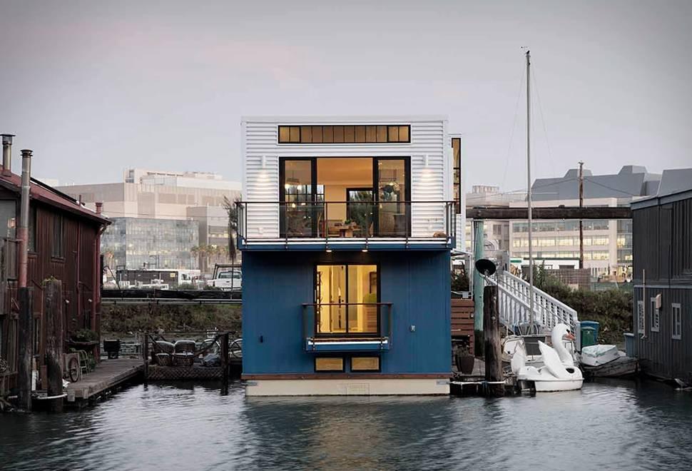 Casa flutuante San Francisco