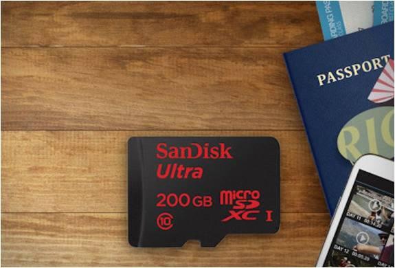 SANDISK 200GB MICROSD - Imagem - 3
