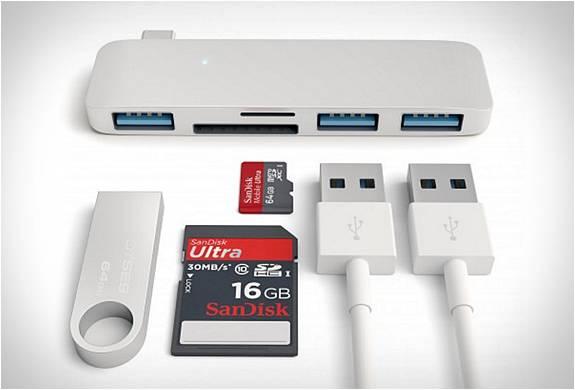 USB-C Adaptador Satechi | Satechi Type-c Usb Hub - Imagem - 3