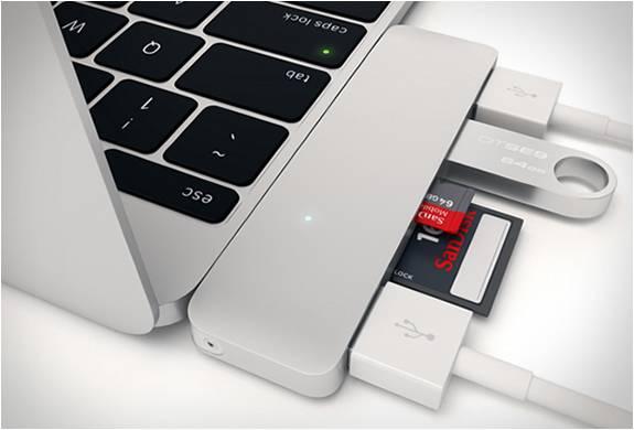 USB-C Adaptador Satechi | Satechi Type-c Usb Hub - Imagem - 4