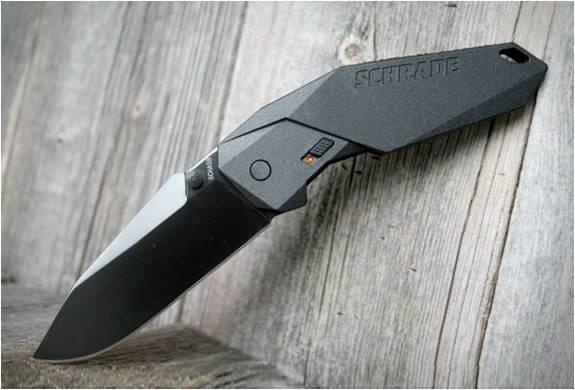 FACA DOBRÁVEL - SCHRADE MAGIC ASSISTED OPENING KNIFE - Imagem - 2