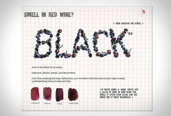 Livro Risco & Guia em Vinhos | Scratch & Sniff Wine Guide - Imagem - 4