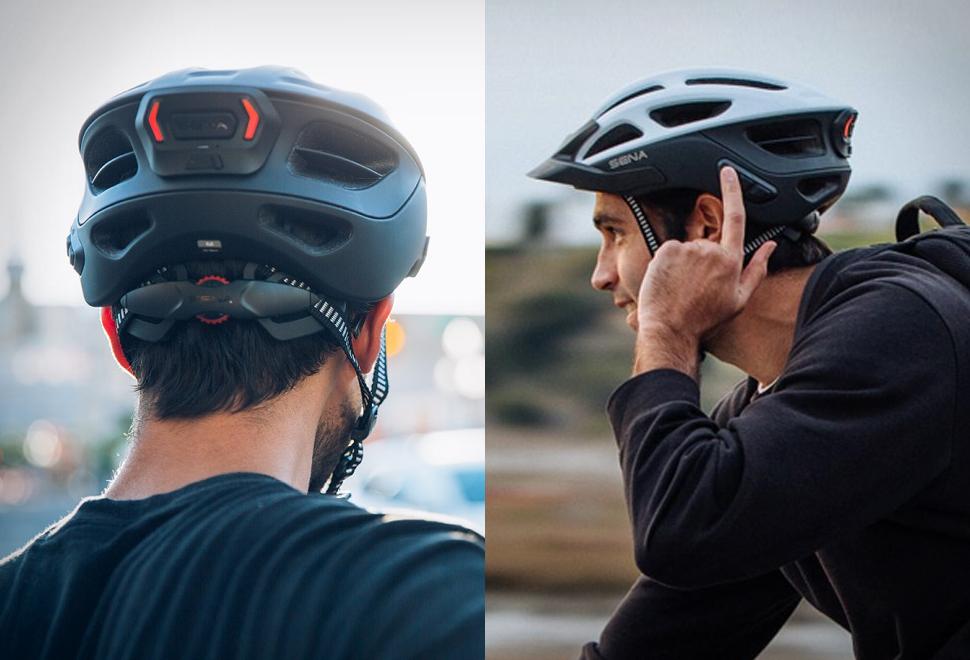 Capacete de bicicleta inteligente Sena - Imagem - 1