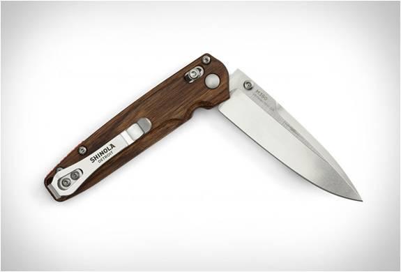 CANIVETE SHINOLA x BENCHMADE POCKET KNIFE - Imagem - 2
