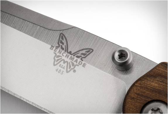 CANIVETE SHINOLA x BENCHMADE POCKET KNIFE - Imagem - 4
