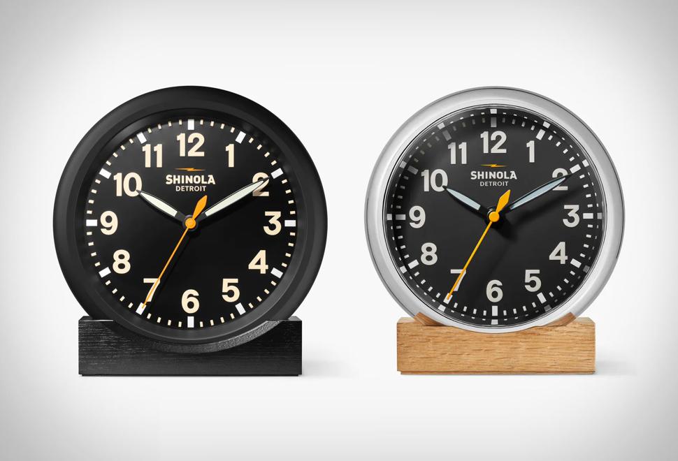 Relógio de Mesa - SHINOLA DESK CLOCK - Imagem - 1