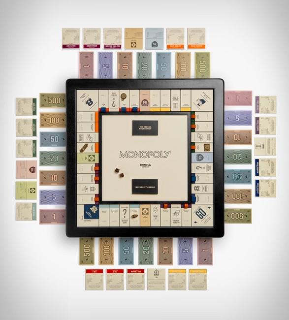 Jogos de Monopólio - SHINOLA MONOPOLY DETROIT EDITION - Imagem - 3