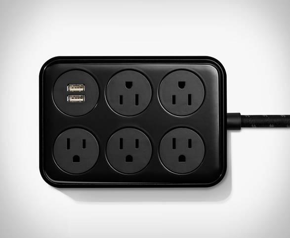 Hub USB 2 portas com Extensão Elétrica 5 Portas Shinola - Imagem - 2