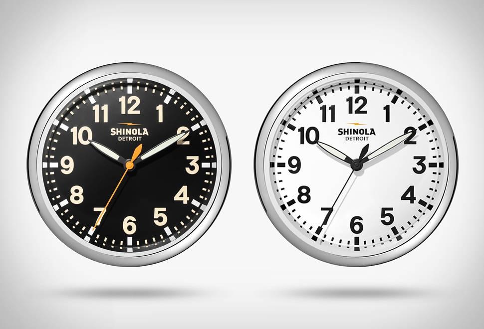 Relógio de Parede Shinola - Imagem - 1