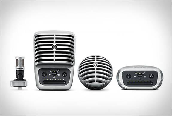 Microfones Digitais Motiv