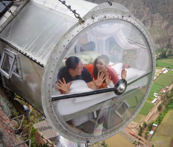 Pousadas à Beira de Um Penhasco Peruano - SKYLODGE ADVENTURE SUITES - Imagem - 2