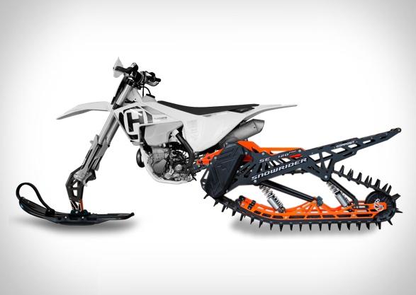 MOTO SNOWRIDER DIRT BIKE SNOW KIT - Imagem - 4