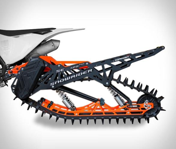 MOTO SNOWRIDER DIRT BIKE SNOW KIT - Imagem - 2