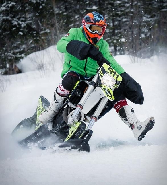 MOTO SNOWRIDER DIRT BIKE SNOW KIT - Imagem - 3