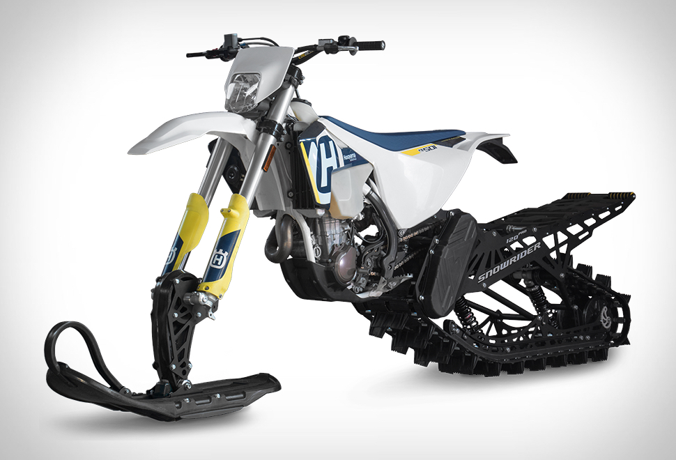 MOTO SNOWRIDER DIRT BIKE SNOW KIT
