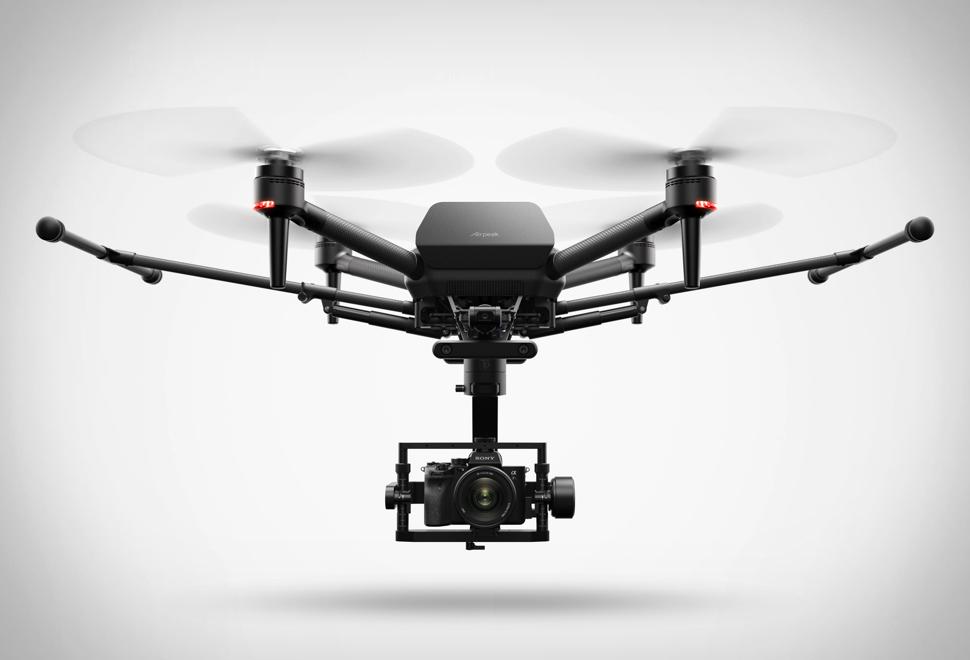 A Sony lançou seu primeiro drone - SONY AIRPEAK - Imagem - 1