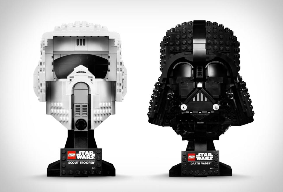 Capacetes Lego Star Wars - Imagem - 1