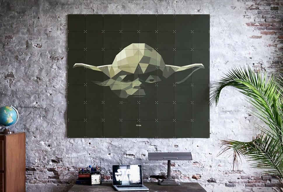 Painel de Parede de Star Wars - Imagem - 1