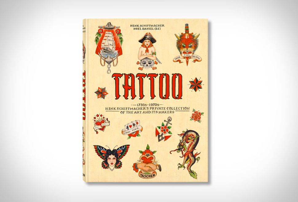 Livro com história da tatuagem - TATTOO - Imagem - 1