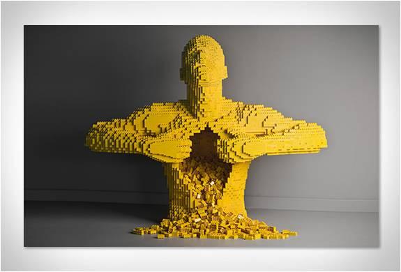 A ARTE DAS ESCULTURAS DE LEGO - Imagem - 3