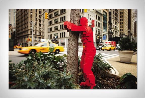 A ARTE DAS ESCULTURAS DE LEGO - Imagem - 5